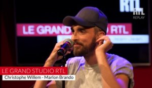 Christophe Willem - Marlon Brandon (LIVE) Le Grand Studio RTL