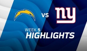 Chargers vs. Giants highlights | Week 5