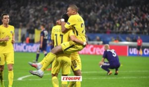 Foot - C1 - PSG : Kylian Mbappé, teenager record