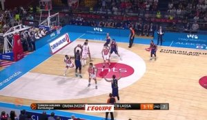 Basket - Euroligue (H) : Barcelone s'incline à Belgrade