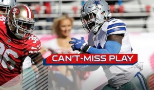 Can't-Miss Play: Ezekiel Elliott dances down sideline for 72-yard TD
