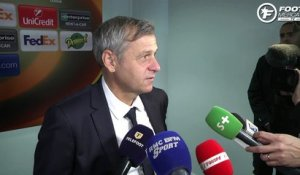 OL-Everton : la réaction de Bruno Genesio