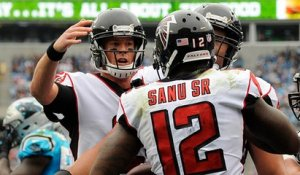 Mohamed Sanu makes perfect cut, scores 6-yard touchdown