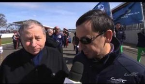 Interview with Jean Todt and Pierre Fillon