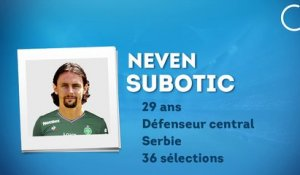 Officiel : Subotic file à Saint-Etienne