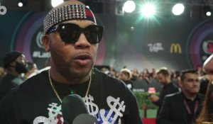 Flo Rida Talks About His Collaboration with Maluma on the 2017 Latin Grammys Red Carpet