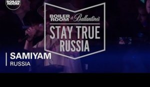 Samiyam Boiler Room & Ballantine's Stay True Russia Live Set