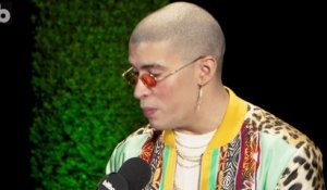 Bad Bunny Shows Off His Fashion & Teases New Music | 2017 Latin Grammys