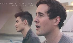 What Do You Mean - One Last Time MASHUP (Justin Bieber-Ariana Grande) - Sam Tsui & Casey Breves