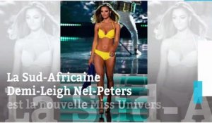 La très sexy Sud-Africaine Demi-Leigh Nel-Peters élue Miss Univers