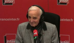 For me, for me, formidable Charles Aznavour - Tom Villa a tout compris