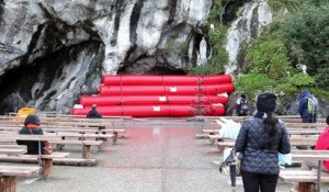 Le dispositif du sanctuaire de Lourdes pour faire face aux crues