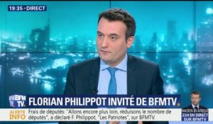 "Florian Philippot sur le FN: ""Quand on part, on est agoni d'injures"""