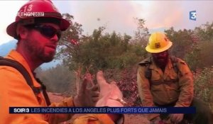 La Californie en proie à un gigantesque incendie