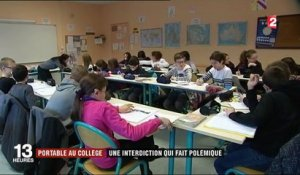 Education : l'interdiction du portable au collège divise