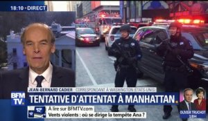 New York: 4 blessés dans une tentative d'attentat à Manhattan
