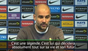 "Premier League - Guardiola: ""Agüero, une légende"""