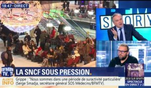 "SNCF: Guillaume Pépy met son mandat ""à la disposition du gouvernement"""
