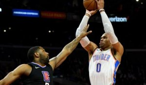 NBA : Les Clippers butent sur Westbrook
