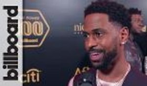 Big Sean Hints to New Music in 2018 on the Black Carpet at Power 100 | Billboard