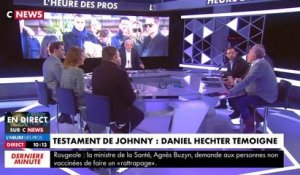 "C News : Daniel Hechter explique comment Laeticia Hallyday ""interceptait tout"""