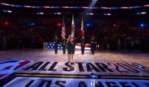 Fergie ruine l'hymne américain au All Star Game NBA !! Black Eyed Peas
