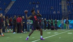 Daniel Jeremiah breaks down Lamar Jackson's combine workout