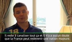 "Six Nations - O'Driscoll: ""La France peut redevenir une nation majeure"""