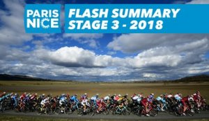 Flash Summary - Stage 3 - Paris-Nice 2018