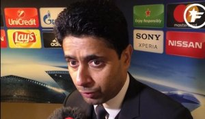 PSG-Real Madrid : la réaction à chaud de Nasser Al-Khelaïfi