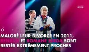 Renaud : Son tendre message d'encouragement à son ex Romane Serda