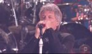 Bon Jovi Performs Medley at iHeartRadio Music Awards
