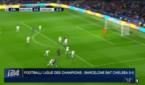 Football / Ligue des champions : Barcelone bat Chelsea 3-0