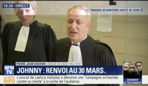 "Succession de Johnny : ""Cette affaire a bien besoin de transparence"", résume l'avocat de David Hallyday"
