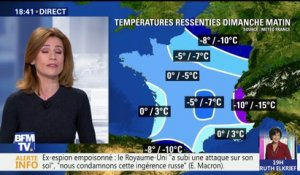 Météo: vague de froid surprise ce week-end