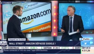 Regard sur la Tech: Amazon dépasse Google à Wall Street ! - 20/03