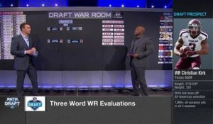 Three-word evaluations: Breaking down the draft's top WRs