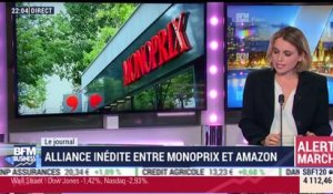 Journal After Business: l'alliance entre Monoprix et Amazon, Facebook et EDF - 27/03