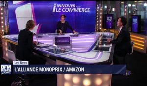 Les News: L'alliance inédite entre Monoprix et Amazon - 31/03