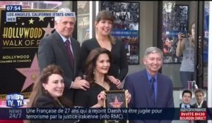 Lynda Carter, alias Wonder Woman, inaugure son étoile sur le Walk of Fame à Hollywood
