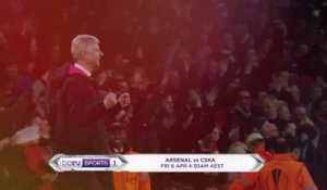 Watch Arsenal v CSKA Moscow LIVE on beIN SPORTS