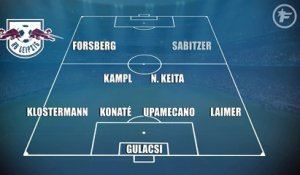 RB Leipzig-OM : les compositions probables