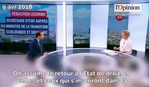 Evacuation de NDDL: «Oui, on assume», soutient Sébastien Lecornu