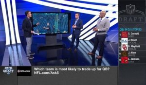 Which teams are most likely to trade up for Josh Allen?