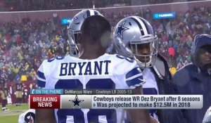 DeMarcus Ware reacts to Cowboys releasing Dez Bryant