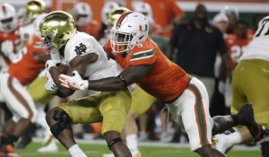 Breaking down DL Chad Thomas' college highlights
