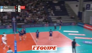 Paris en demi-finale - Volley - Ligue A (H) - Quart de finale