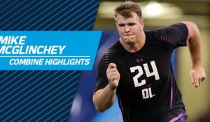 Mike McGlinchey's full 2018 NFL Scouting Combine workout