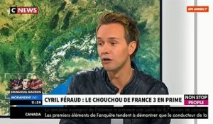 "Cyril Féraud dans ""Morandini Live"" sur CNews et Non Stop People - VIDEO"