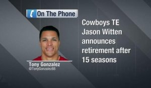 Tony Gonzalez on Jason Witten: 'He is a first ballot Hall of Famer... without a doubt'